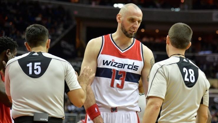 NBA: Osiem punktów Gortata. Wizards zakończyli rok zwycięstwem