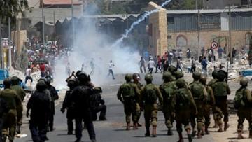 19-05-2017 22:58 Zamieszki na Zachodnim Brzegu i w Strefie Gazy. 25 osób zostało rannych