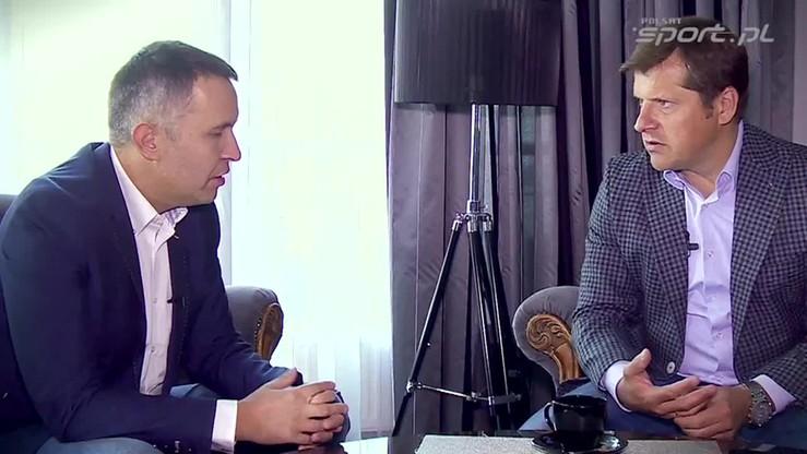 Kulisy Sportu: menadżer Cezary Kucharski