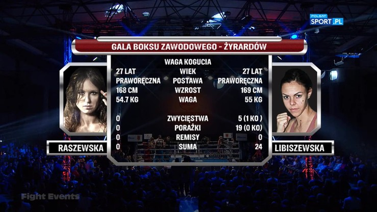 Paulina Raszewska - Bojana Libiszewska. Skrót walki