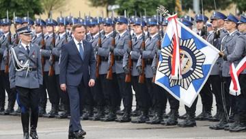 23-07-2017 12:28 Prezydent wręczył nominacje generalskie dwóm oficerom policji