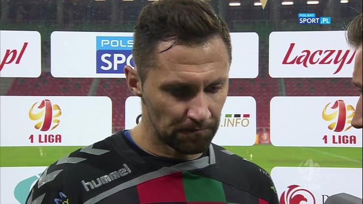 2016-10-15 Górkiewicz: To był mecz na remis, a nie mamy choćby punktu