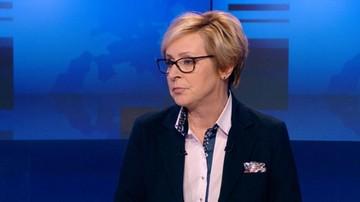 """30-04-2017 22:19 """"Szkoda, że Tusk nie reagował, kiedy poniżano pana premiera Kaczyńskiego"""". Wiśniewska o sprawie Szonert-Biniendy"""