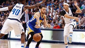 2017-03-22 NBA: Starcie braci Curry. Piąte zwycięstwo Warriors