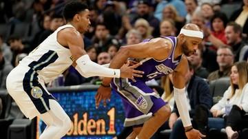 2018-01-08 NBA: McColumm bohaterem Trail Blazers, skuteczny Ginobili