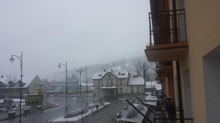 2015-11-22 Piękny początek zimy w Bieszczadach. Ustrzyki Dolne