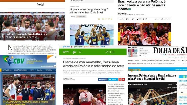 Brazylijskie media: Wielki finał, spektakularny Mika, fantastyczni kibice