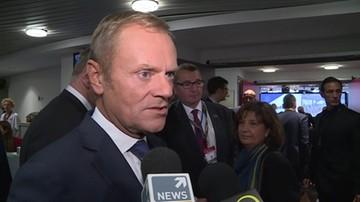 Tusk: wiem co znaczy dążenie do niepodległości, ale wiem też, co jest ważne dla Hiszpanii i Europy