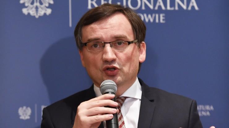 Ziobro: poleciłem prokuraturze, żeby wystąpiła o uchylenie immunitetu sędzi ze Szczecina