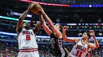 2017-01-05 NBA: Osłabieni Cavaliers przegrali z Bulls