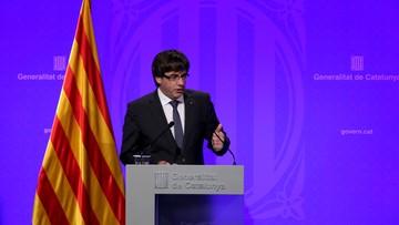 04-10-2017 07:34 Premier Katalonii: ogłoszenie niepodległości to kwestia dni