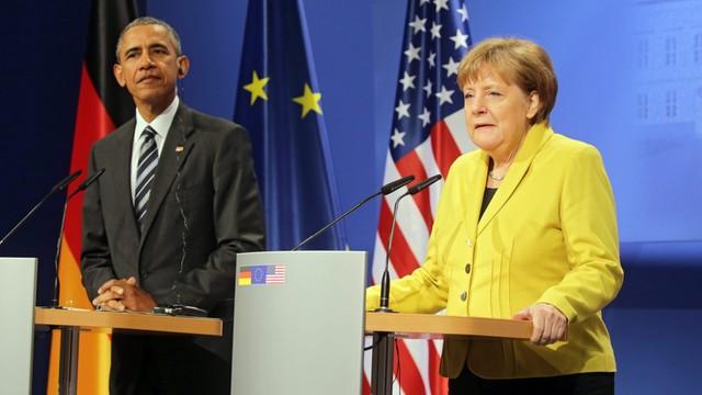 Niemcy: Obama chwali odwagę Merkel w kryzysie migracyjnym