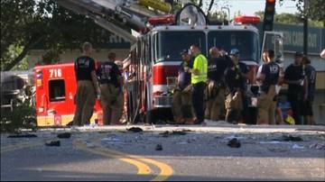 """11-08-2016 17:06 """"Ludzie wyskakiwali z okien"""". Wybuch i pożar w budynku koło Waszyngtonu"""