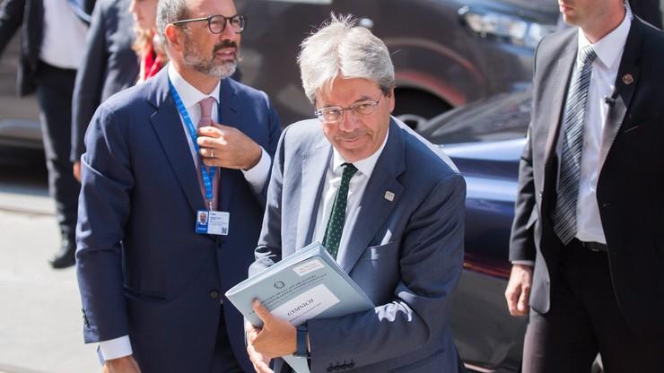 """Szef włoskiego MSZ: chcemy, by powstał """"węższy"""" krąg państw wewnątrz UE"""
