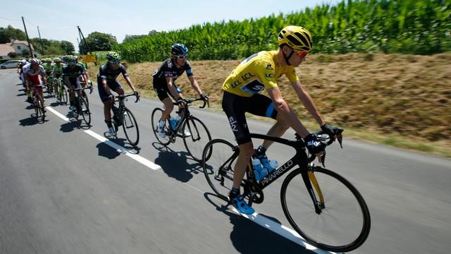 Hakerzy zaatakowali lidera Tour de France. Wyciekły dane z treningów kolarza