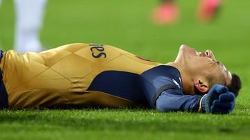 2015-12-01 Alexis Sanchez poza grą przez kilka tygodni
