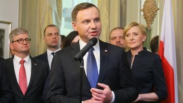 Duda: sekretarz generalny NATO i szefowa unijnej dyplomacji w przyszłym tygodniu w Polsce