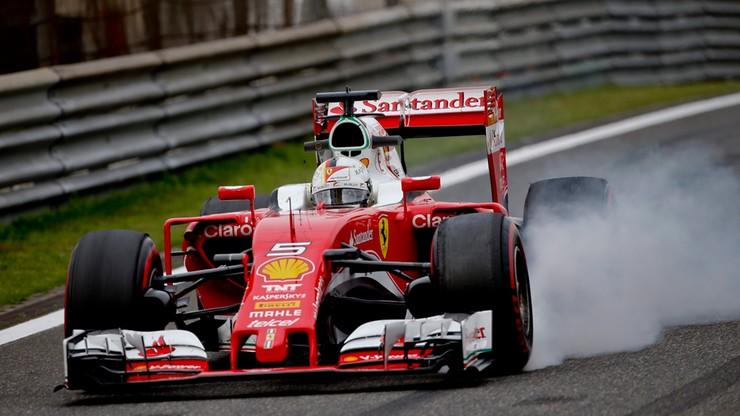 F1: Vettel najszybszy na trzecim treningu przed GP Chin
