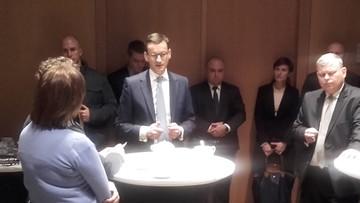 Morawiecki: na razie z lekarzami rezydentami spotka się minister zdrowia