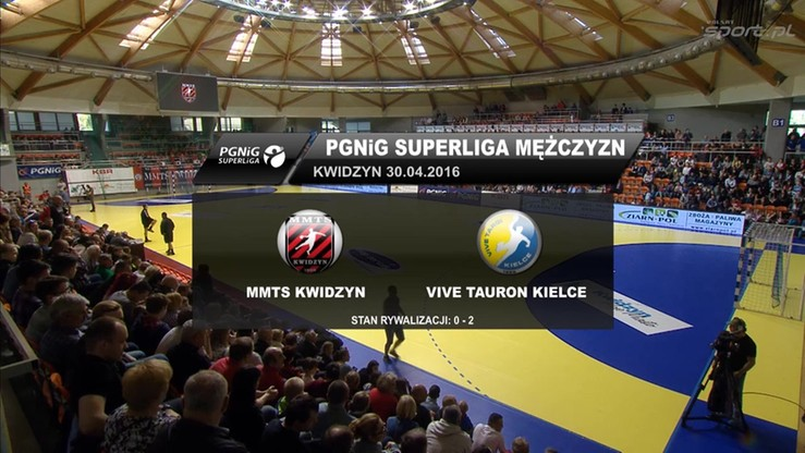 MMTS Kwidzyn - Vive Tauron Kielce 19:40. Skrót meczu