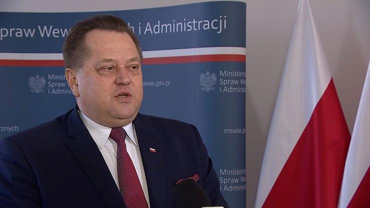 """Zieliński zostaje w MSWiA. """"Będę kontynuował swoją pracę"""""""