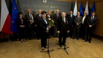 Kaczyński: premier broniła polskiej sprawy w sposób, który pozostanie w naszej historii