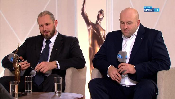 Tomasz Majewski i Piotr Małachowski w studiu Balu Mistrzów Sportu