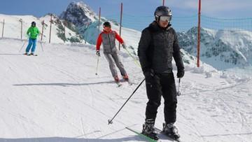 03-03-2017 17:16 Prezydenci Polski i Słowacji na Kasprowym Wierchu. Pojeździli na nartach i rozmawiali