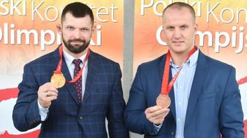 2017-09-26 Kołecki i Dołęga odebrali medale olimpijskie