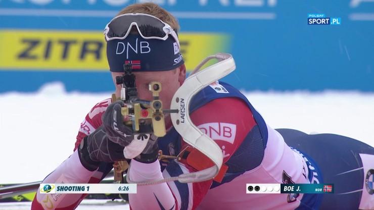 PŚ w biathlonie: kolejne zwycięstwo Johannesa Boe
