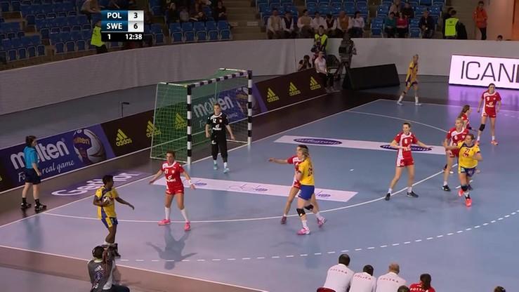 Polska - Szwecja 24:30. Skrót meczu