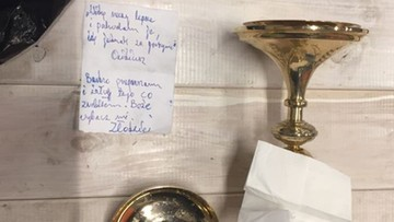 """21-07-2017 12:41 """"Boże, wybacz mi. Złodziej"""". Ukradł, oddał i zostawił list"""