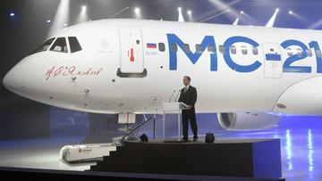 09-06-2016 14:57 Rosjanie pokazali nowy samolot pasażerski. Ma być lepszy od boeingów i airbusów