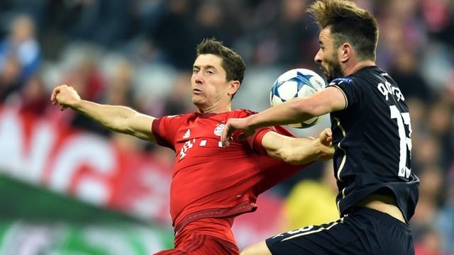 Lewandowski znów rządzi na boisku - trzy gole w LM