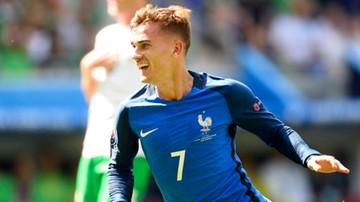 Francja - Irlandia: Gol Griezmanna dał Trójkolorowym prowadzenie!