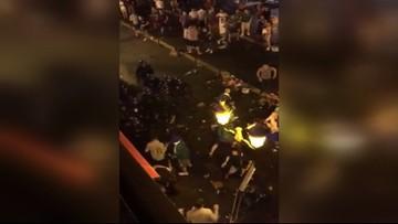 12-06-2016 06:54 Przyjaźnie z Irlandczykami, starcia z Francuzami. Polscy kibice w Nicei