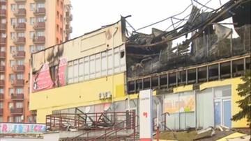 19-02-2016 10:25 Groźny pożar domu handlowego w Tczewie. Trwa akcja dogaszania