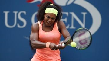 2015-09-03 US Open: Awans Sereny Williams. Mimo kłopotów w pierwszym secie