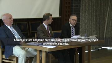 Sędzia TK Morawski: korupcja obejmuje sędziów SN, TK