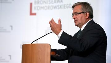 Wzmocnienie wschodniej flanki i bezpieczeństwo Ukrainy. Komorowski o wyzwaniach szczytu NATO