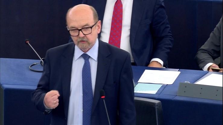 """Legutko atakuje Timmermansa w PE. """"Kompletny, asemantyczny bełkot"""""""