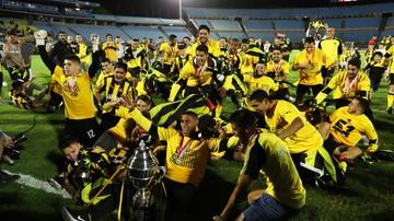 2017-12-11 Piłkarze Penarolu Montevideo po raz 51. mistrzami Urugwaju