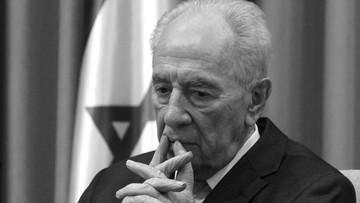 28-09-2016 05:17 Nie żyje Szimon Peres. Były prezydent Izraela i architekt porozumienia z Palestyńczykami