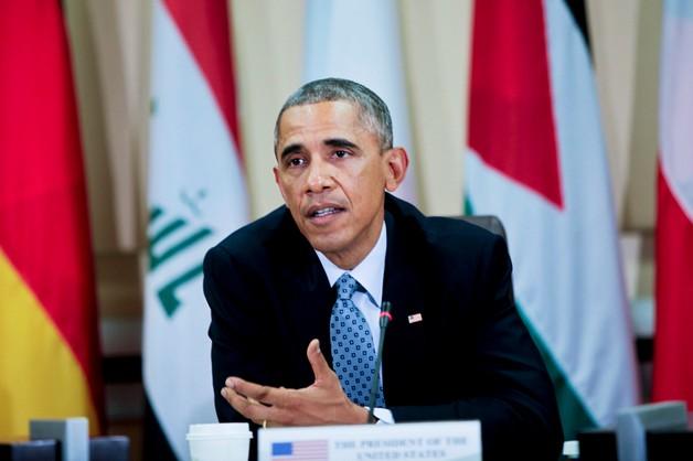 Rozmowy Obamy z przywódcami Europy