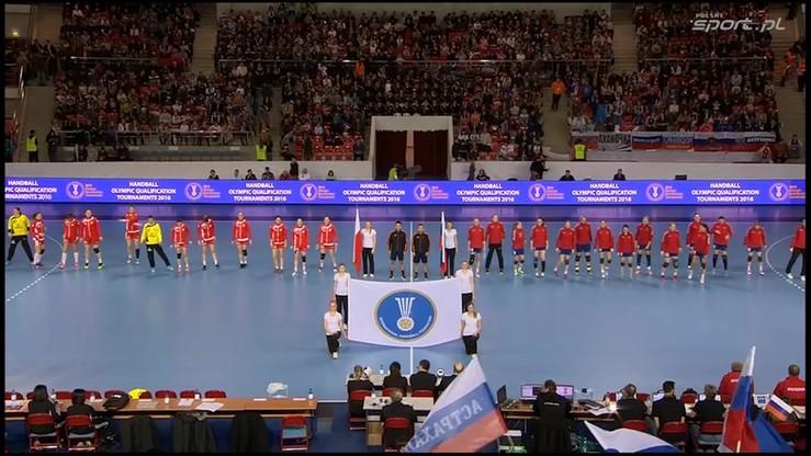 Rosja - Polska 27:25. Skrót meczu