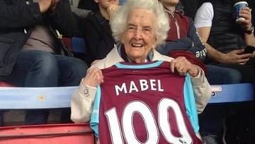 06-04-2016 07:20 82 lata kibicuje swojej drużynie. West Ham uhonorował 100-letnią fankę