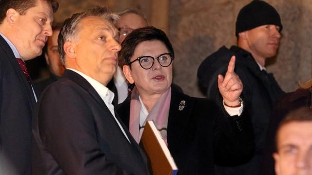 Orban z wizytą w Krakowie