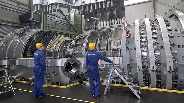 Niemiecki rząd interweniuje w Moskwie w sprawie turbin Siemensa na Krymie
