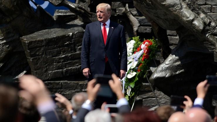 """""""Zaciekła obrona zachodnich wartości"""" kontra """"mroczne i prowokujące"""". Zróżnicowane reakcje amerykańskich mediów na wizytę Trumpa w Polsce"""
