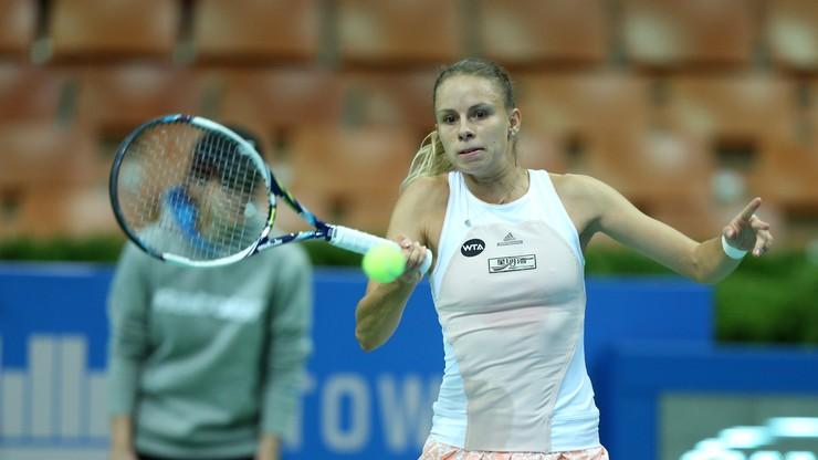 WTA w Shenzhen: Linette awansowała do drugiej rundy